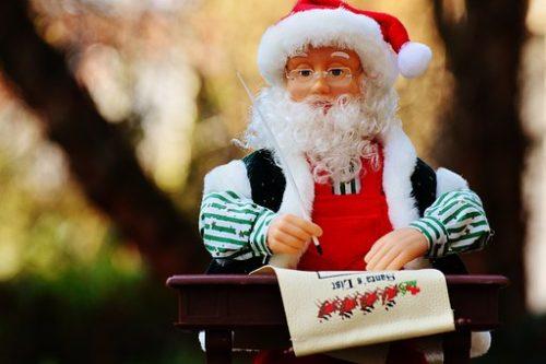 クリスマスの食料品売り場の作り方