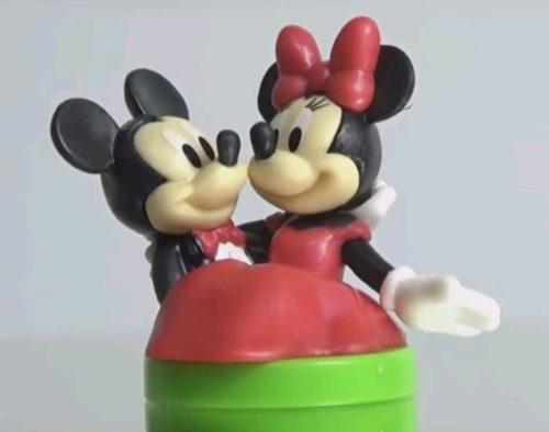 チョコエッグディズニーキャラクター9シークレット ミッキー&ミニー