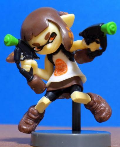 チョコエッグ スプラトゥーン2シークレット ガール(チョコエッグバージョン)