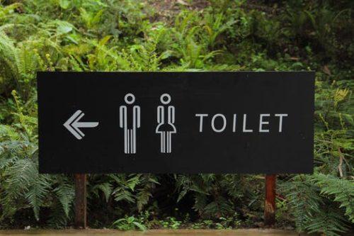 店長の次の仕事はトイレを作る事