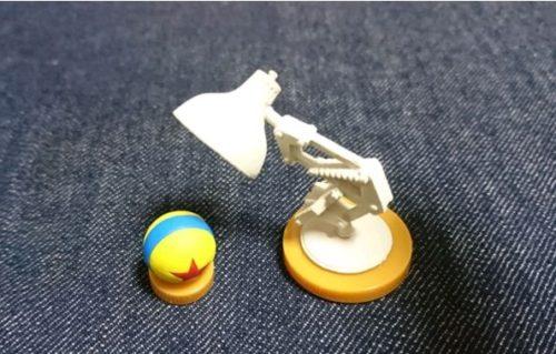 ディズニー ピクサー5 シークレット ルクソーJr&ピクサーボール